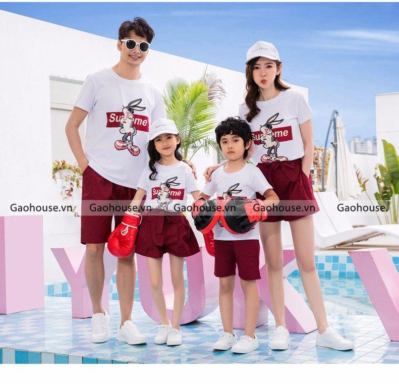 1_áo thun gia đình đi biển