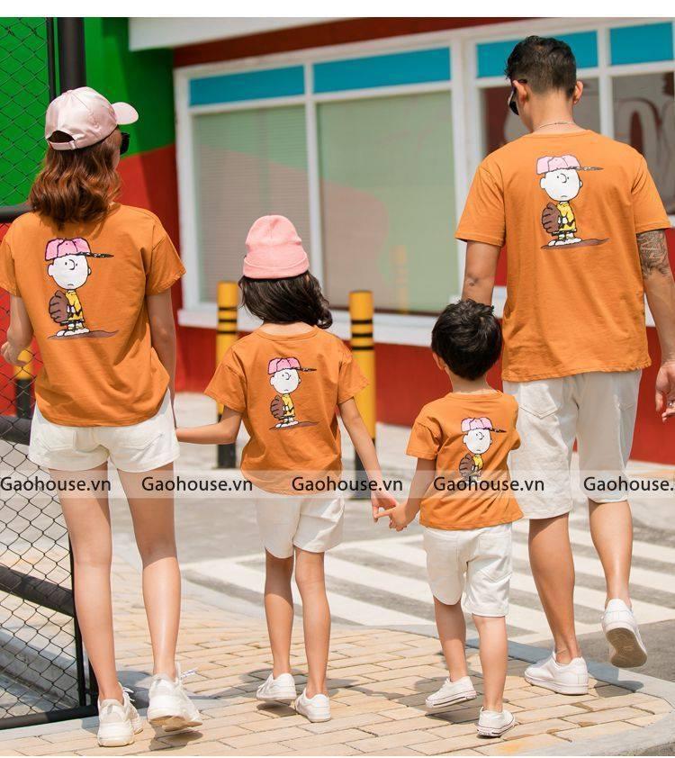 1_áo gia đình mùa hè