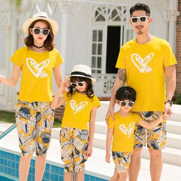 1_áo phông gia đình
