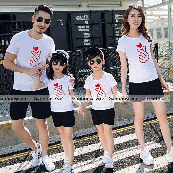3_áo thun gia đình