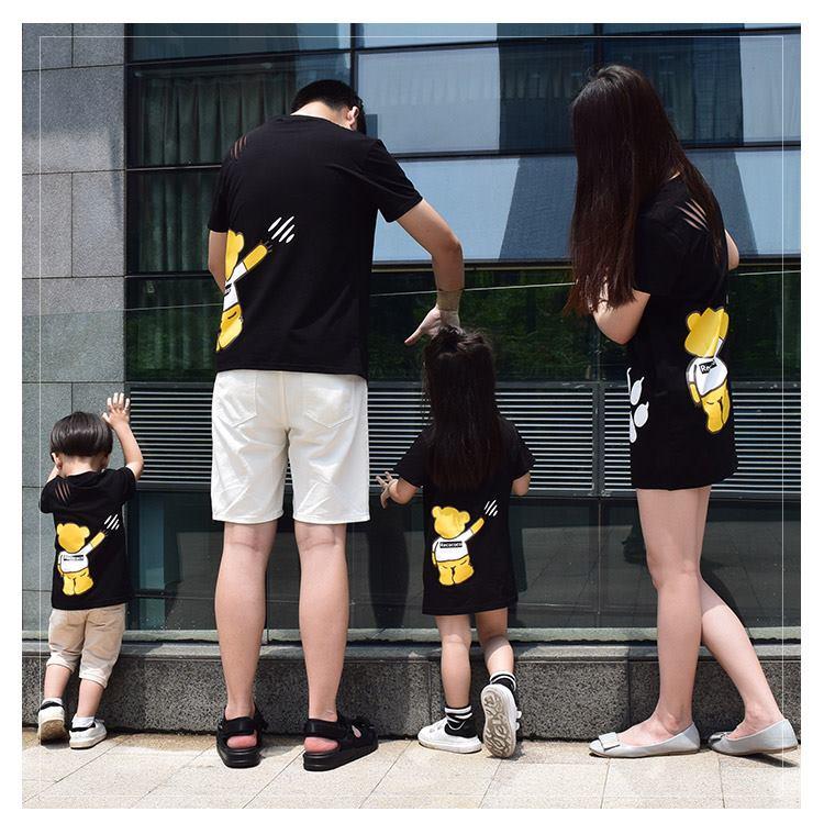 3_áo đồng phục gia đình mùa hè