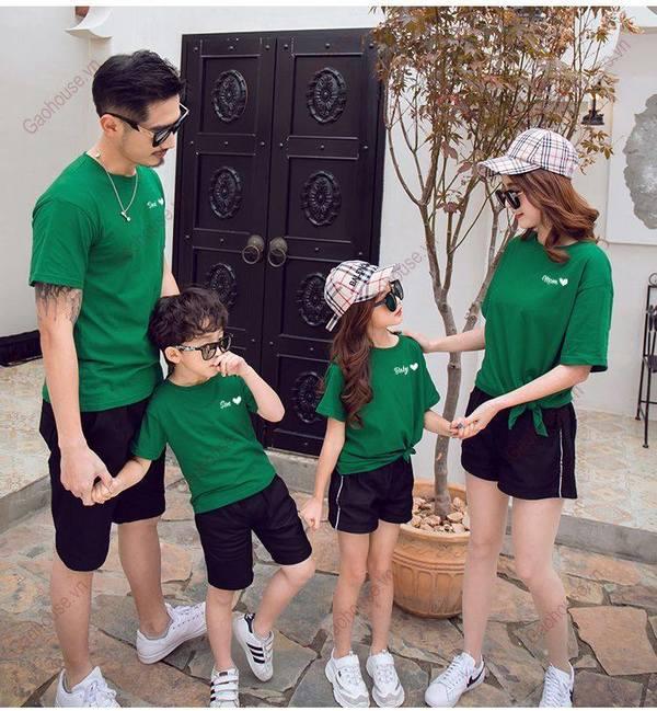 2_mẫu áo gia đình đẹp
