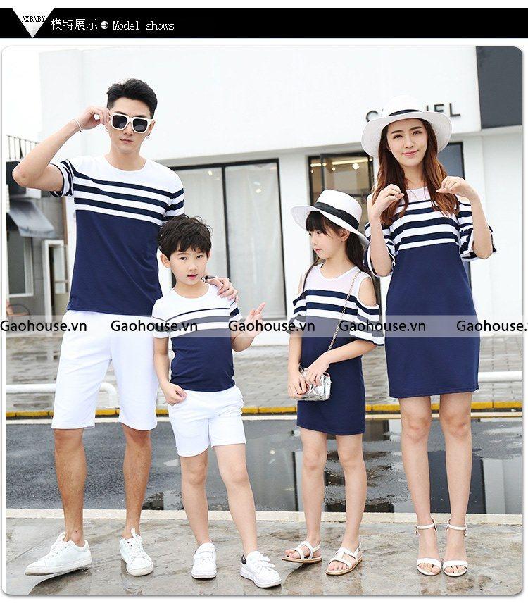 6_áo gia đình mùa hè
