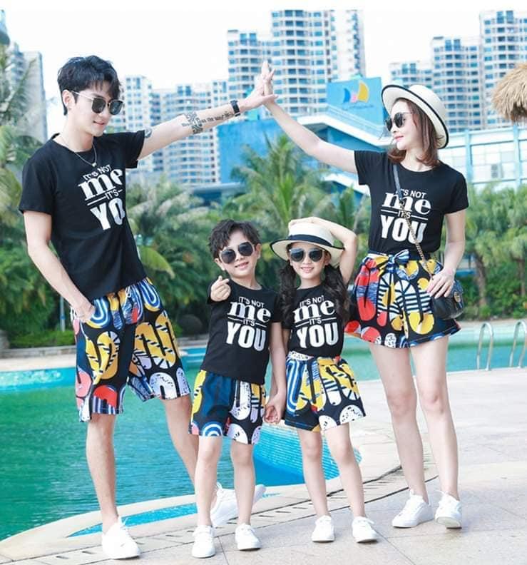 3_áo phông gia đình đẹp giá rẻ