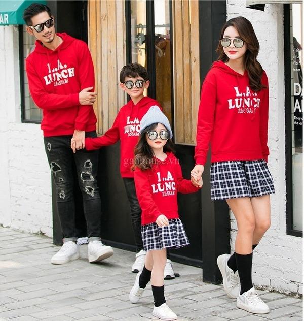 6_áo thun gia đình dài tay
