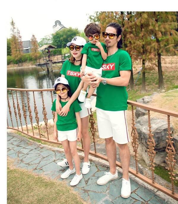 5_áo thun gia đình mùa hè