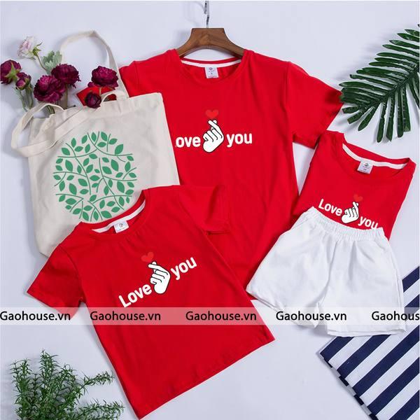 5_áo đồng phục gia đình mùa hè