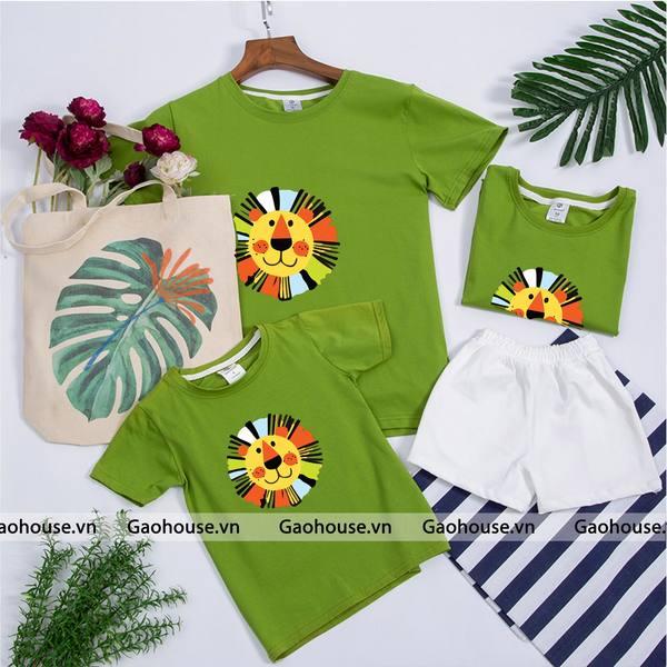 7_áo thun gia đình mùa hè