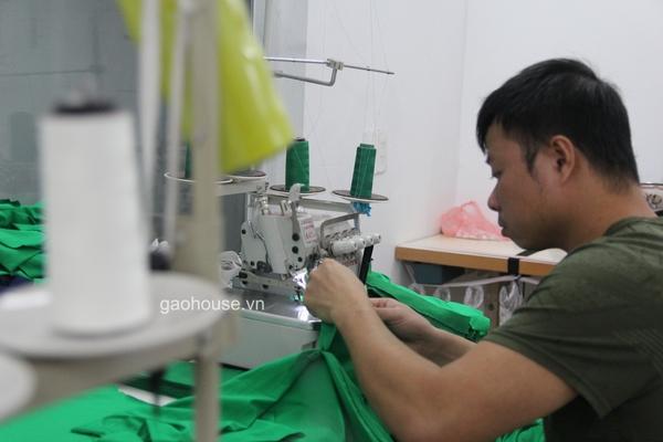 xưởng áo gia đình Gạo House