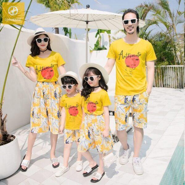 Áo gia đình đi biển AGD0060