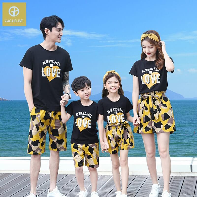 áo gia đình đi biểnAlways fall in love (1)