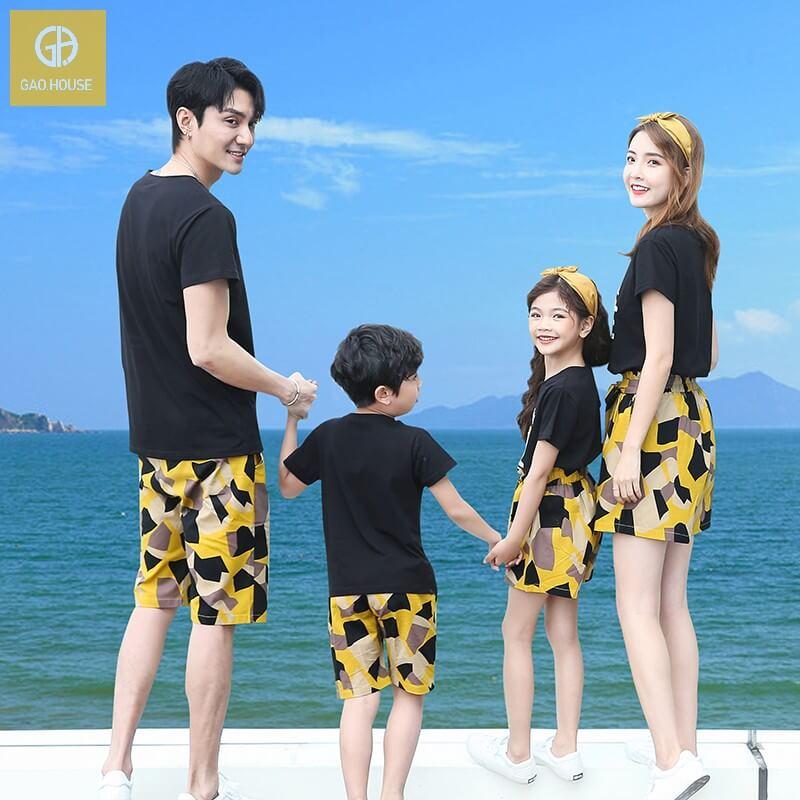 Áo gia đình đi biển Always fall in love (3)