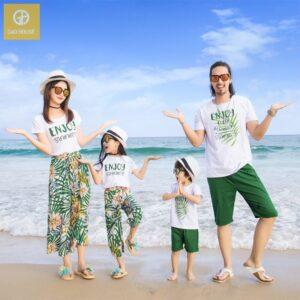 Áo gia đình đi biển enjoy summer agd0041 (1)