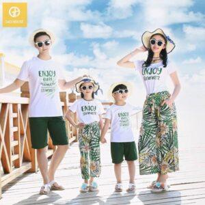 Áo gia đình đi biển enjoy summer agd0041 (4)