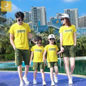 Áo gia đình đi biển fashionable AGD0052 (1)