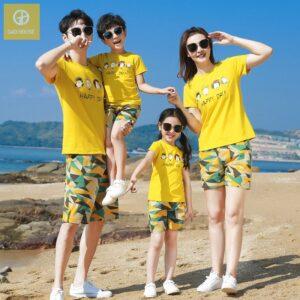 Áo gia đình đi biển Happy Day (3)