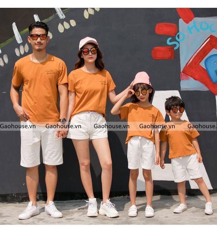 4_áo thun gia đình giá rẻ