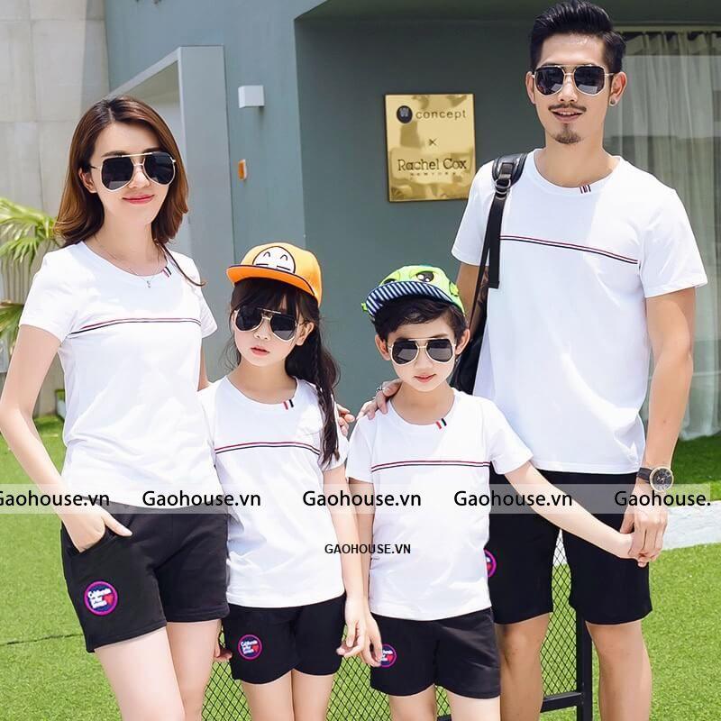 5_mẫu áo gia đình màu hè