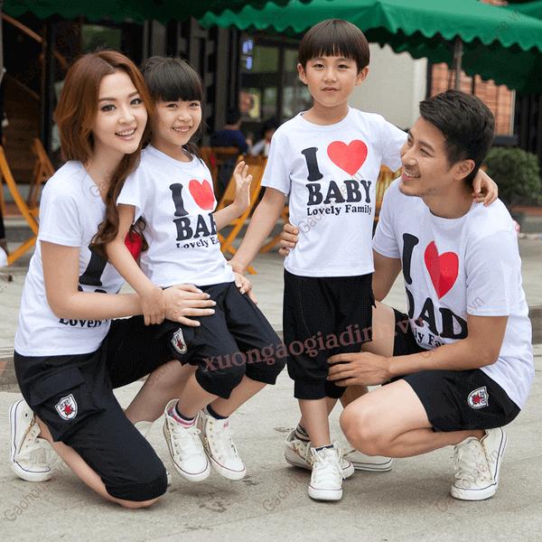 5_áo thun gia đình