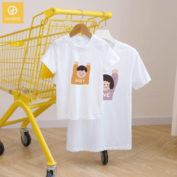 4_áo gia đình mùa hè AGD0016 màu trắng