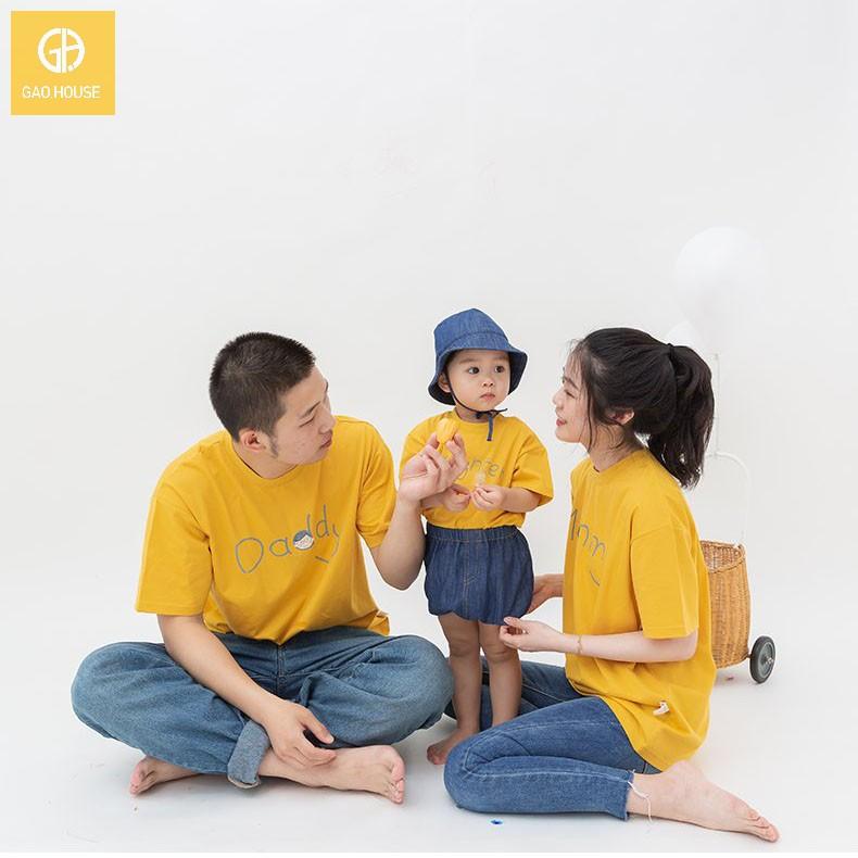 2_áo gia đình mùa hè mommy daddy son AGD0022