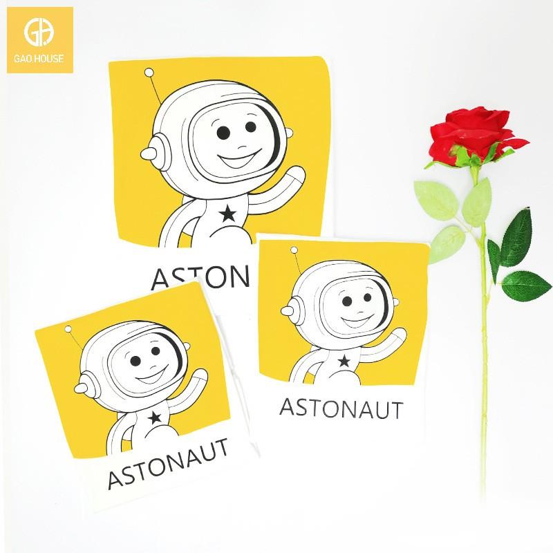 4_áo gia đình mùa hè phi hành gia AGD0017 màu trắng