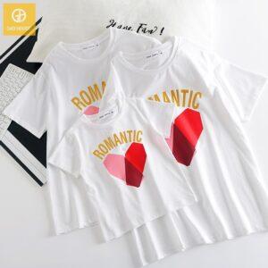 1_áo gia đình mùa hè romantic trái tim AGD0019