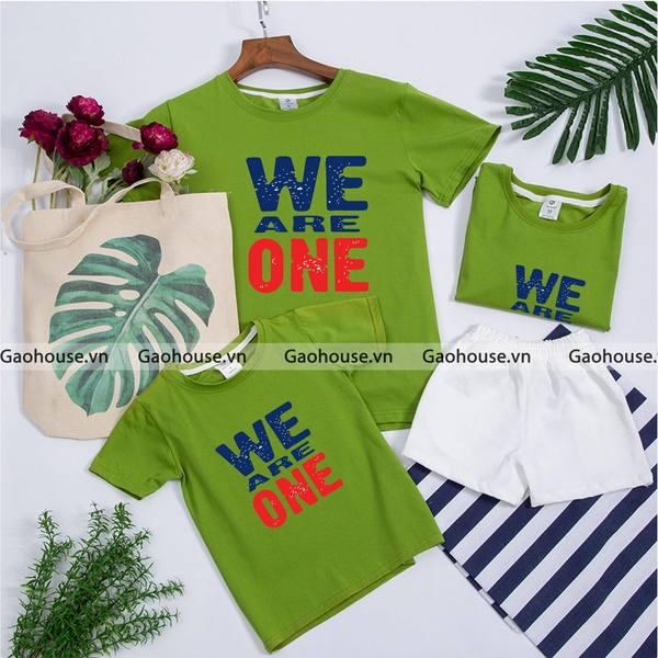 1_áo phông gia đình giá rẻ