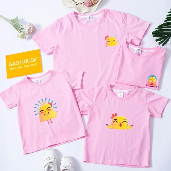 3_áo phông gia đình