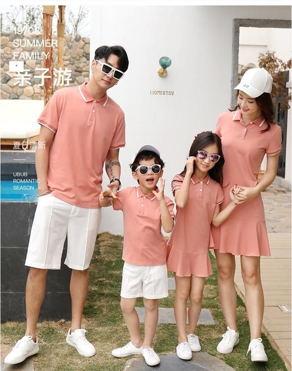 8_mẫu áo gia đình màu hè