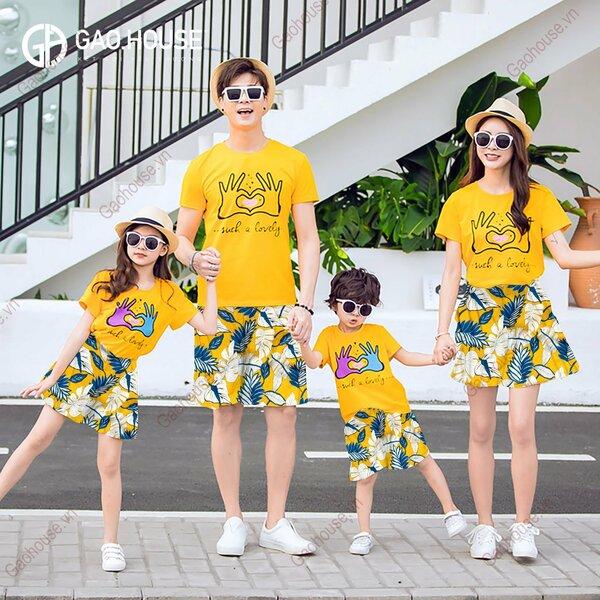 5 bộ đồ gia đình mùa hè Hot Trend 2020