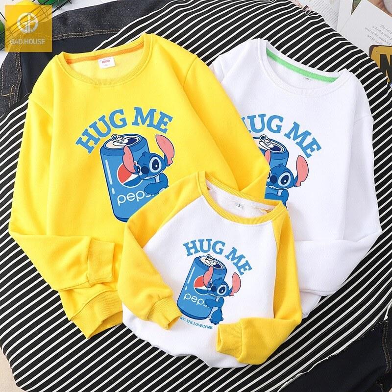 Áo gia đình mùa đông AGD0077 Hug Me