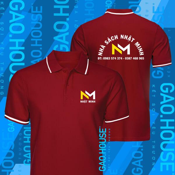 áo đồng phục công ty màu đỏ