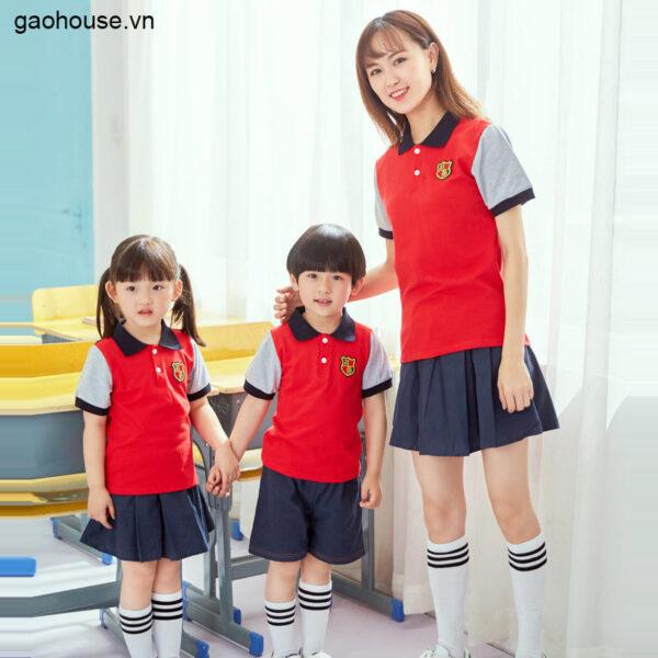 Áo đồng phục mầm non AMN0005