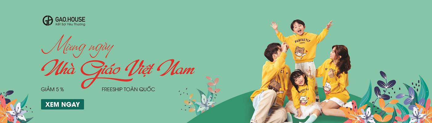Banner chào mừng ngày nhà giáo Việt Nam