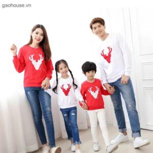 Áo gia đình noel AGD0093