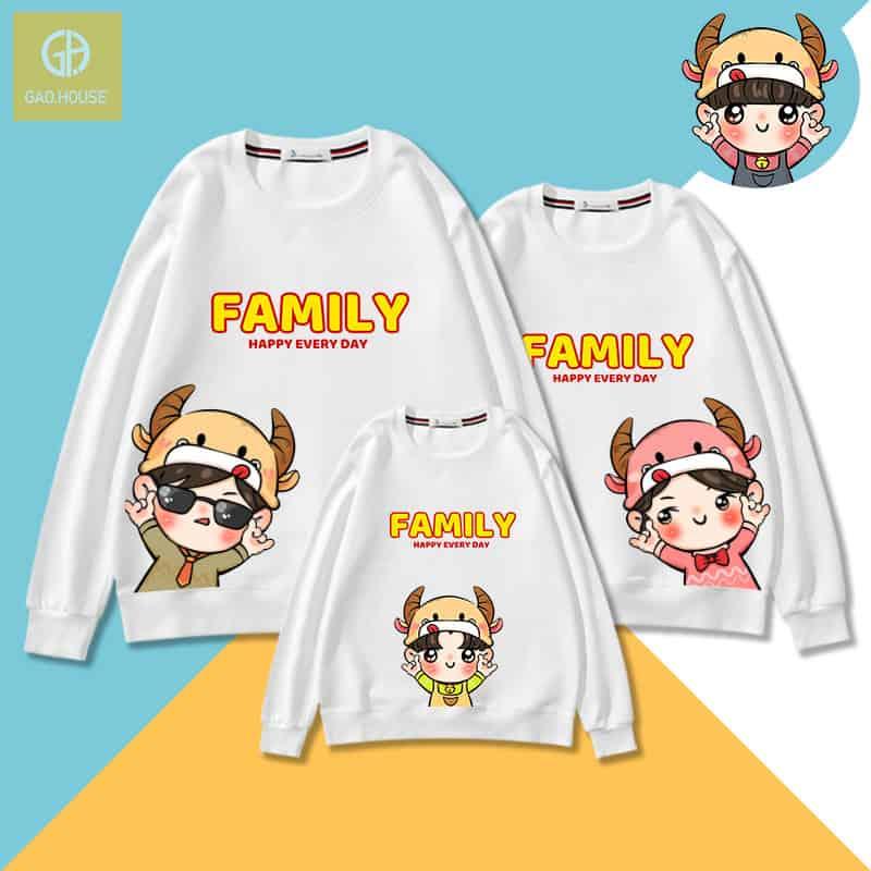 áo gia đình tết 2021
