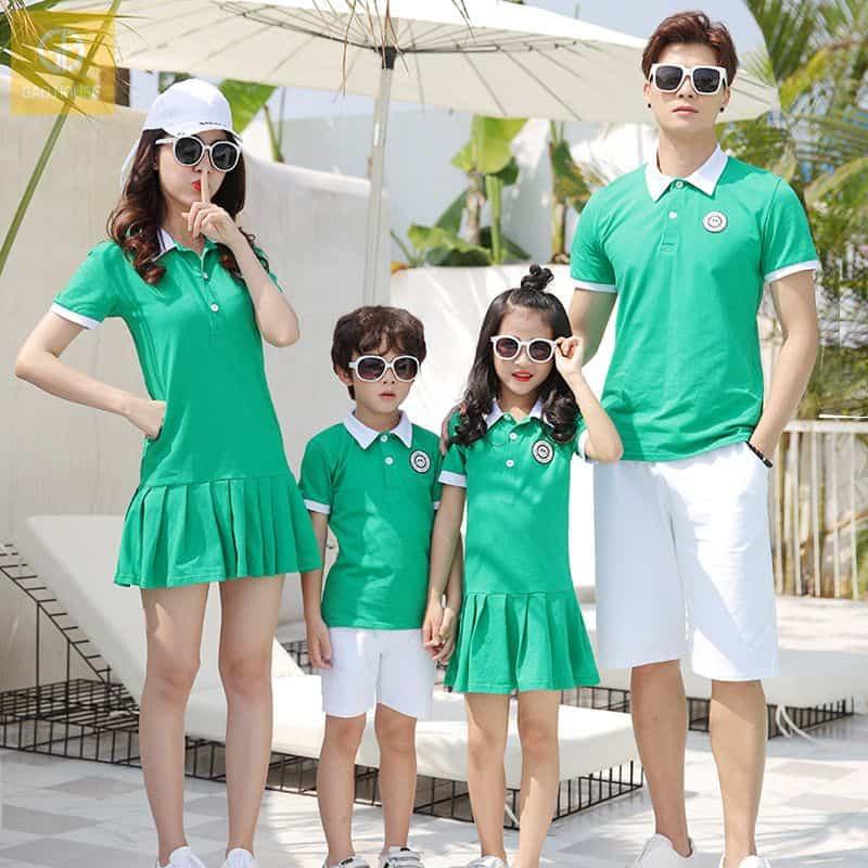 Áo váy gia đình Gạo House AGD1870004